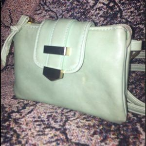 Charming Charlie's Mint Green Crossbody Bag